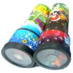 Plastic  Kaleidoskop mit Druck
